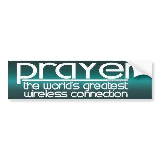 PRAYER bumpersticker