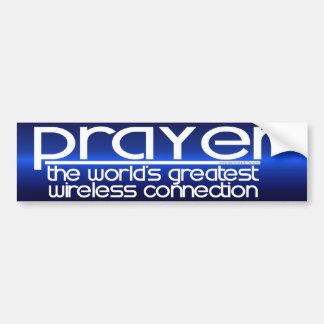 PRAYER CAR BUMPER STICKER