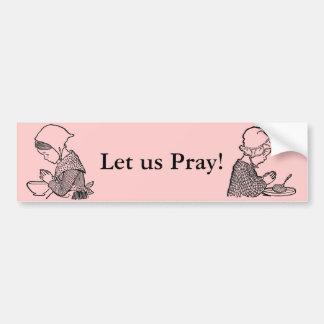 Prayer Bumper sticker Car Bumper Sticker
