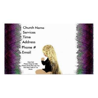 Prayer Business Card