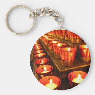 Prayer Candles Keychain