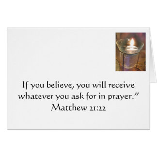 Prayer Stationery Note Card