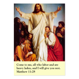 Prayer Card Large Business Cards (Pack Of 100)