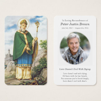 Prayer Card Funeral | Glorious St Patrick