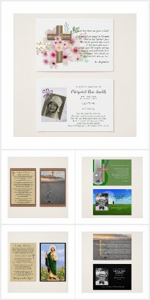 Prayer Cards - Business Card Sized