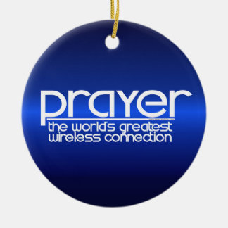 PRAYER CERAMIC ORNAMENT