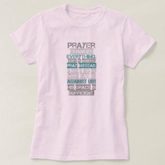 Prayer Changes Everything T-shirt