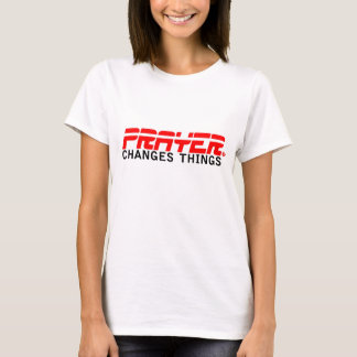 Prayer Changes Things: ESPN style T-Shirt