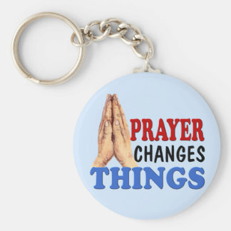 PRAYER CHANGES THINGS KEYCHAIN