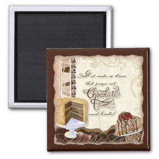 Prayer & Chocolate Magnet