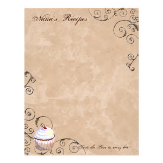 Prayer & Chocolate Woman's Recipe Pages for Binder