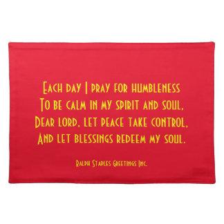 Prayer Cloth Placemat