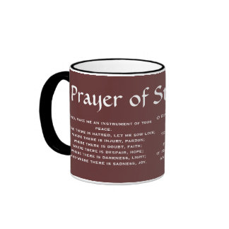 PRAYER de la taza de café de SAN FRANCISCO