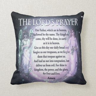 Prayer de señor cojín decorativo
