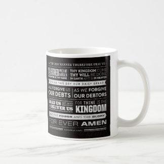Prayer de señor redacta la taza
