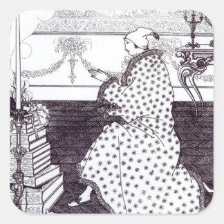 """Prayer del barón, """"de la violación de la pegatina cuadrada"""