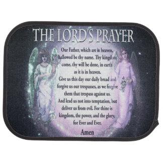 Prayer del señor alfombrilla de coche