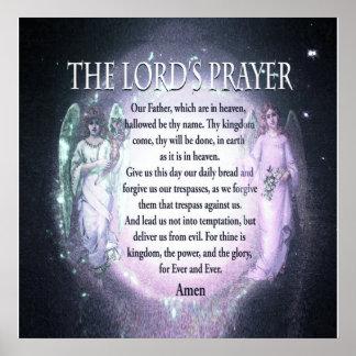 Prayer del señor posters