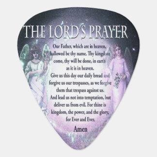 Prayer del señor uñeta de guitarra