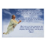 Prayer del señor poster