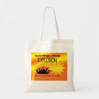Prayer Explosion Tote Bag