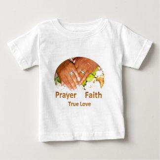 Prayer Faith True Love Baby T-Shirt