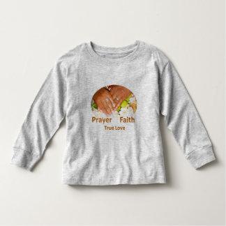 Prayer Faith True Love Toddler T-shirt