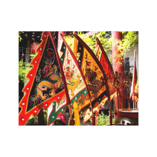 Prayer Flags in Malaysia Canvas Print
