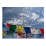 Prayer flags, Leh, Ladakh, India Postcard