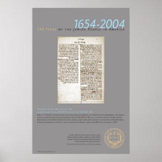 Prayer For George Washington, 1784 Poster