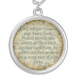 PRAYER FOR OUR SOLDIERS - NECKLACE