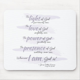 Prayer for Protection Mouse Pad