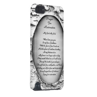 Prayer for Restoration iPod Touch (5th Generation) Cover