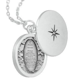Prayer For Restoration Locket Necklace