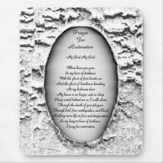Prayer for Restoration Mouse Pad