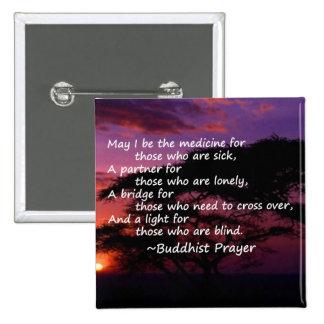Prayer for the Sick 2 Inch Square Button