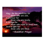 Prayer for the Sick Post Card