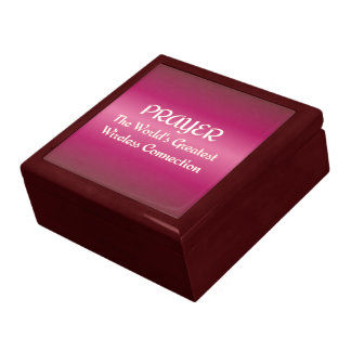 PRAYER - Greatest Wireless Connection Keepsake Box