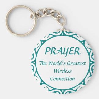 PRAYER - Greatest Wireless Connection Keychain
