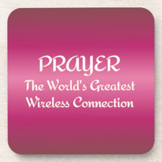 PRAYER - Greatest Wireless Network Coaster