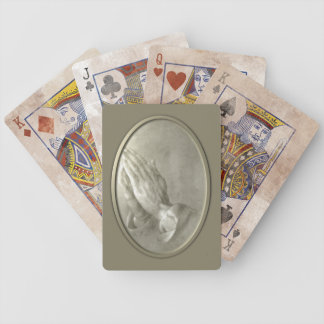 Prayer Hands Bicycle Playing Cards