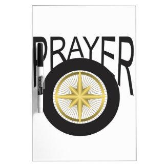 prayer hub dry erase board