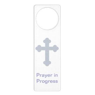 Prayer In Progress Door Hanger