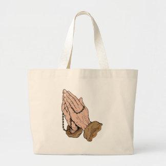 Prayer Large Tote Bag