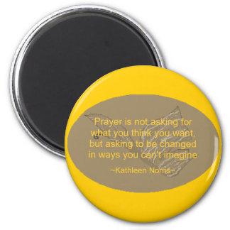 Prayer - magnet