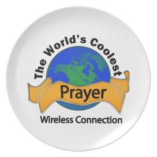 Prayer Melamine Plate