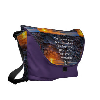 Prayer Messenger Bags
