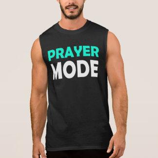 Prayer Mode Sleeveless Shirt