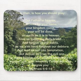 Prayer Mousepad del señor