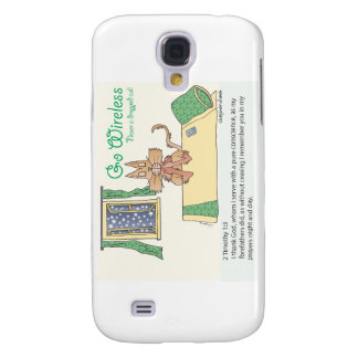 Prayer, Never a Dropped Call Samsung Galaxy S4 Cover